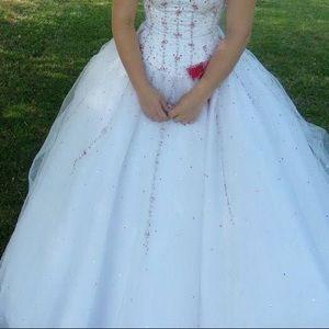 Beautiful fluffy dress